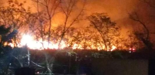 Morón El Palomar Video Incendio