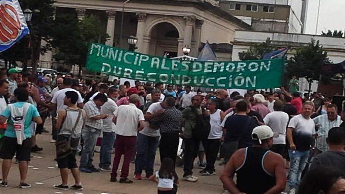 Morón Protesta de Municipales