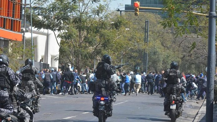 ATE Morón repudió represión en Córdoba