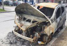 Morón: Así quedó el auto