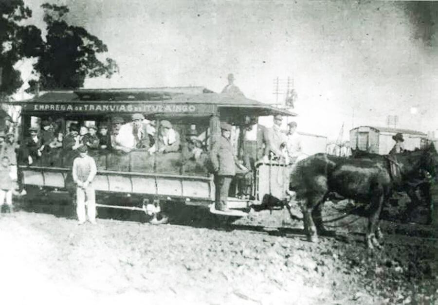 Tranvía Ituzaingó El viaje inaugural 1914