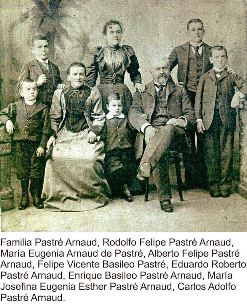 Familia Pastré de Ituzaingó