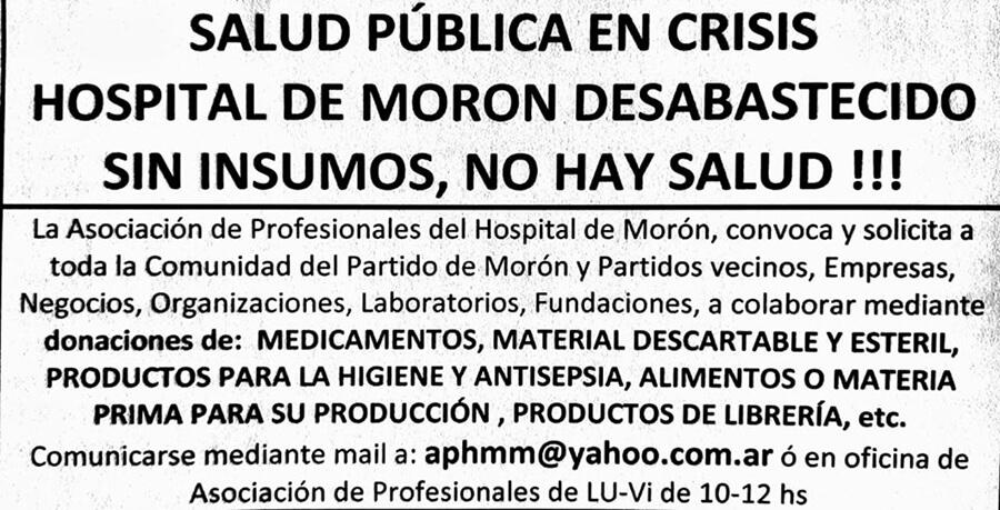 Hoy Morón: Médicos