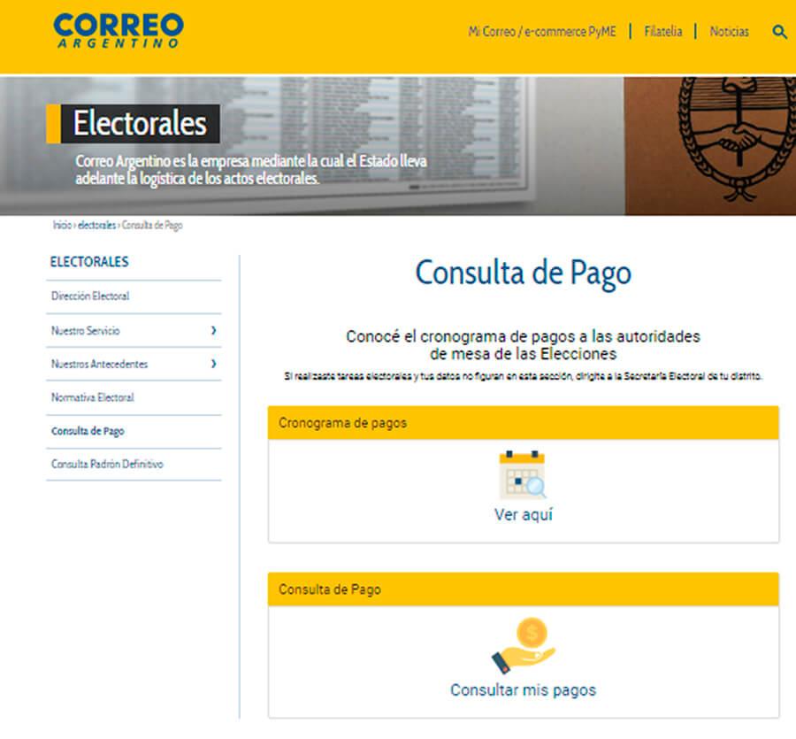 Elecciones 2019 Cuándo Cobro