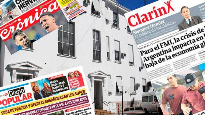 Morón Medios: Clarín, Crónica