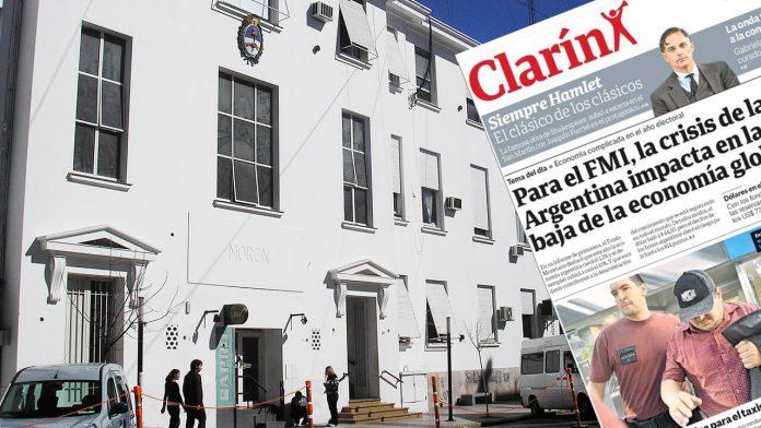Morón: Todo para Clarín