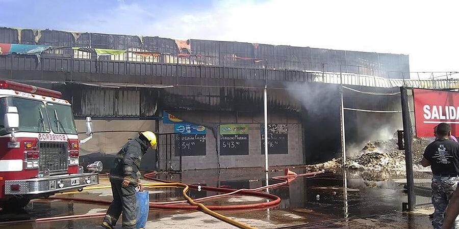 Bomberos de Morón apagan incendio Diario Anticipos