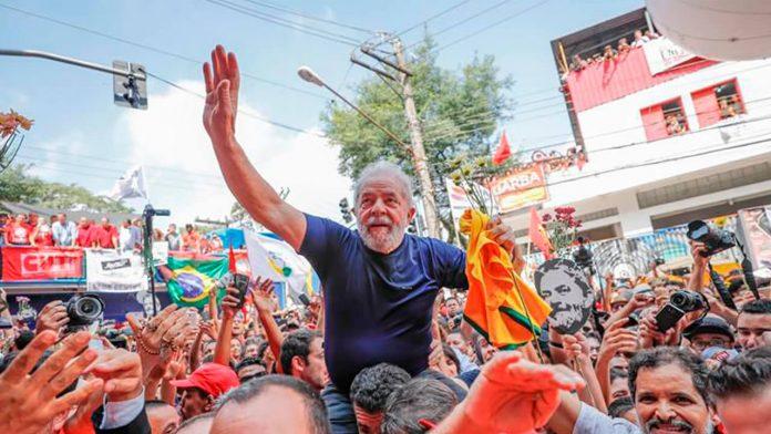 Ahora: Lula Libre en Brasil