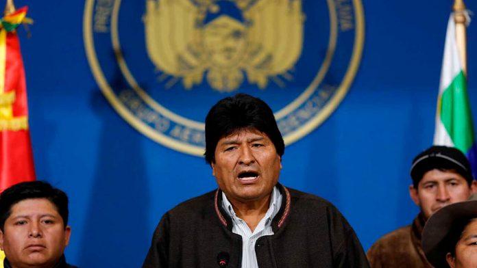 Bolivia: Presionado Evo
