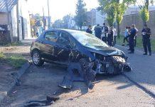 Hurlingham: Choque, destrucción Diario Anticipos