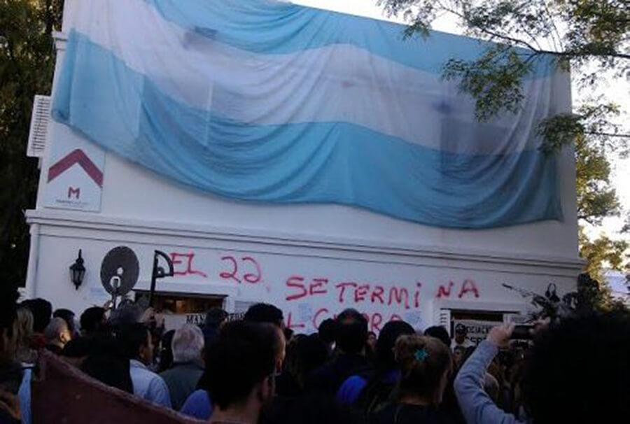 Morón Macri Cambiemos Se va a Acabar el Curro de los Derechos Humanos Diario Anticipos