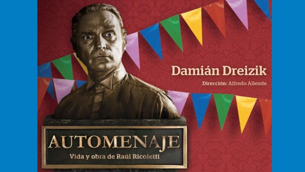 Morón: Show gratis. Autohomenaje con Damián Dreizik