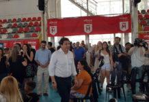 Morón Tarjeta Alimentaria: Estuvo Arroyo