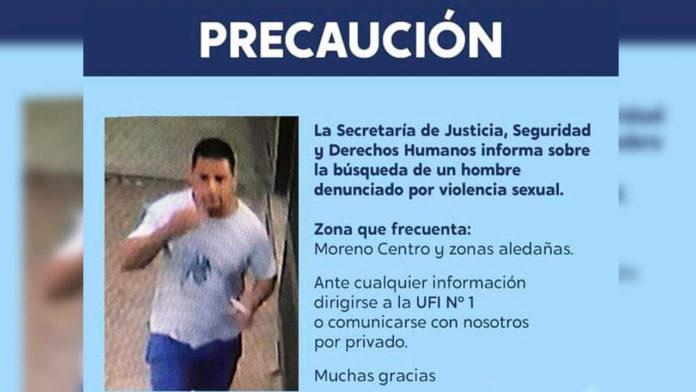 Moreno: Denuncian Violador Serial