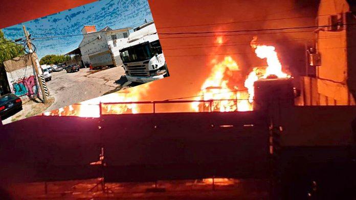Hoy Morón: Brutal incendio