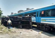 Ahora Tren Sarmiento sin servicio Diario Anticipos