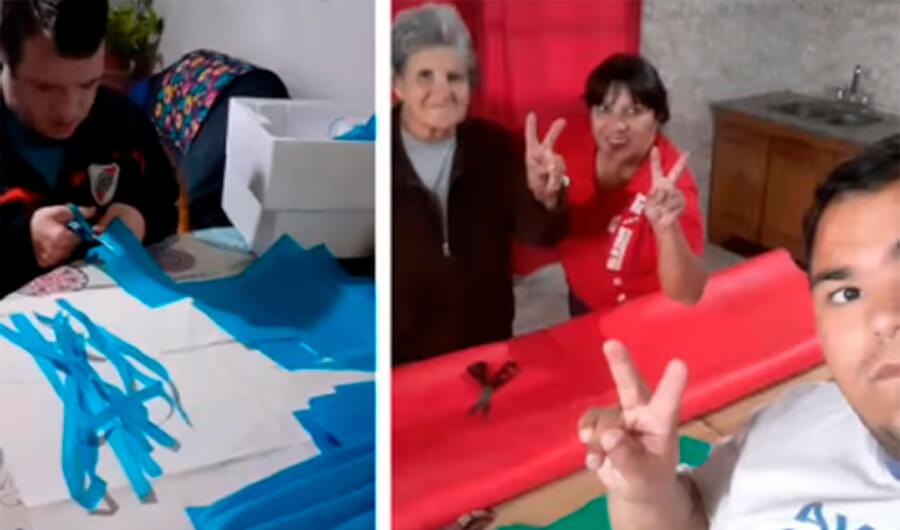 Ituzaingó Barbijos: Piana y una red