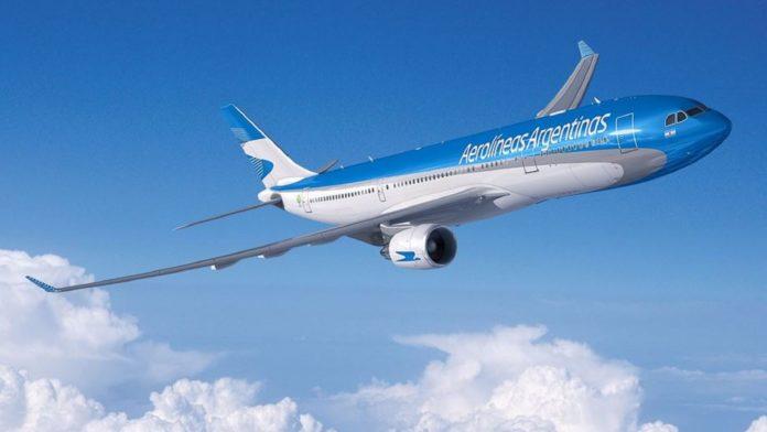 Repatriación: Aerolíneas Argentinas
