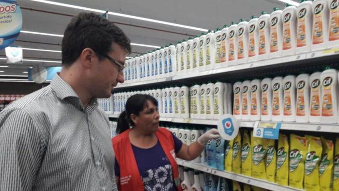 Morón: Supermercados clausurados