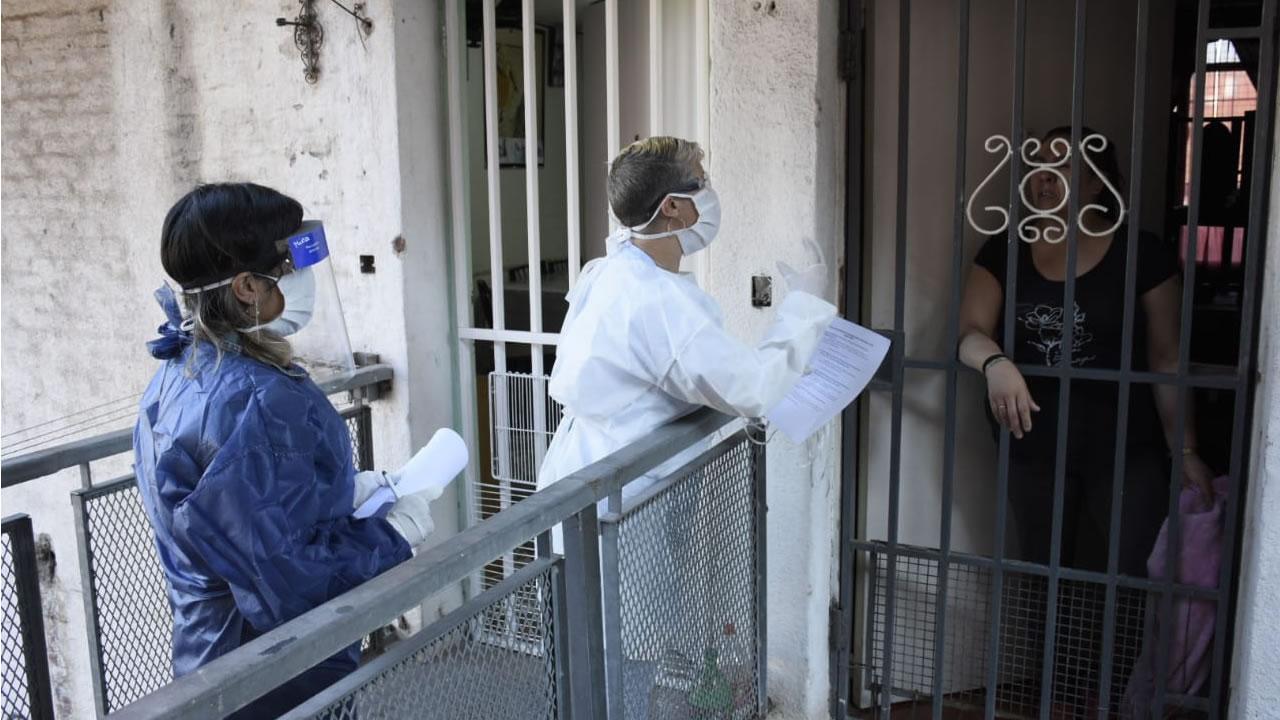 Barrio Carlos Gardel Coronavirus: jornada preventiva