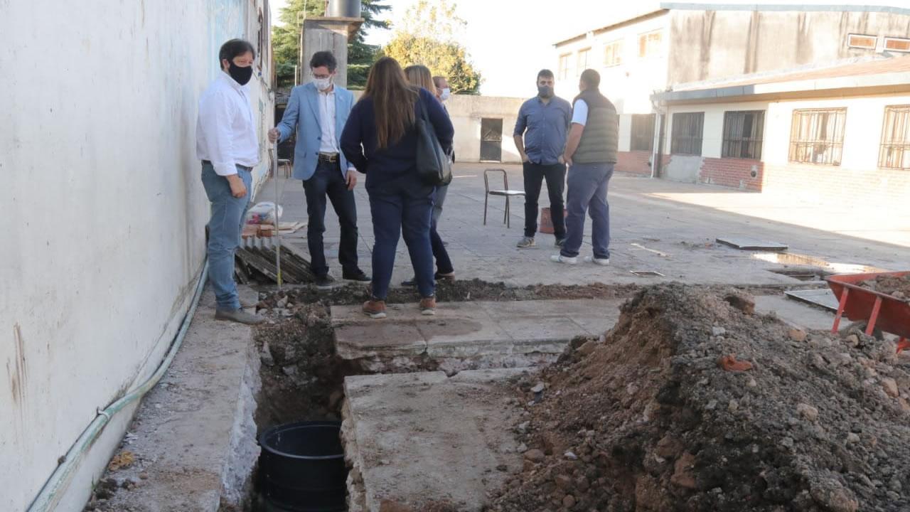 Escuelas de Morón con fuerte inversión en obras del municipio