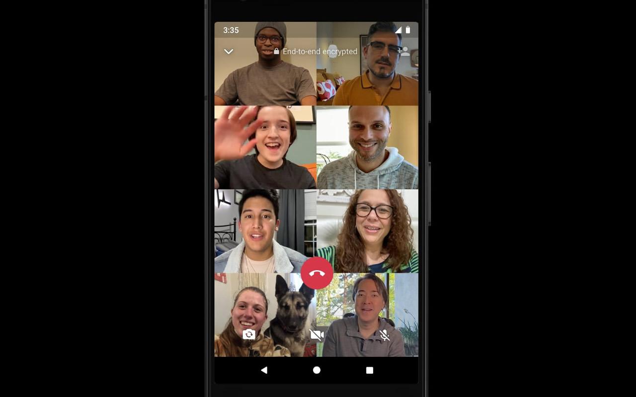 Whatsapp: hacer llamada grupal de hasta 8 personas