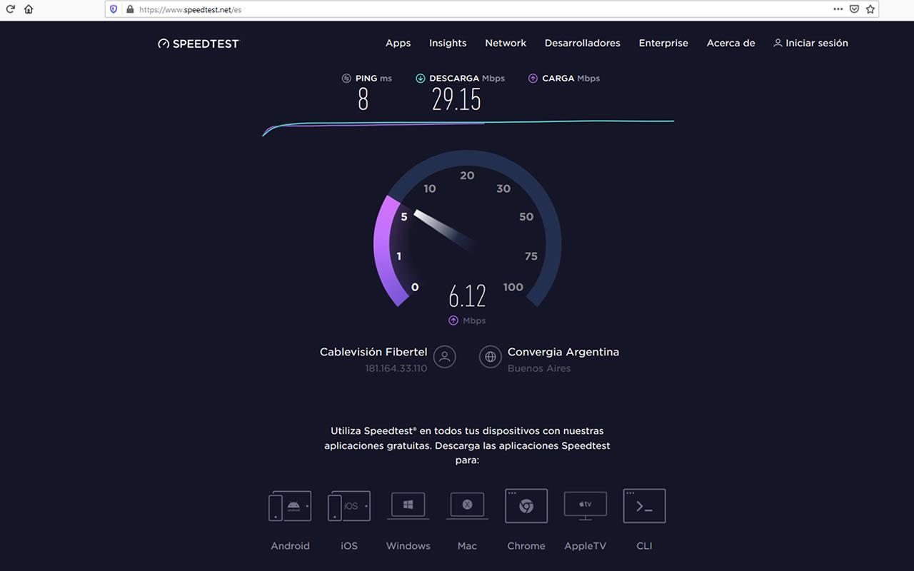 ¿Cómo se mide la velocidad de mi internet en una PC?