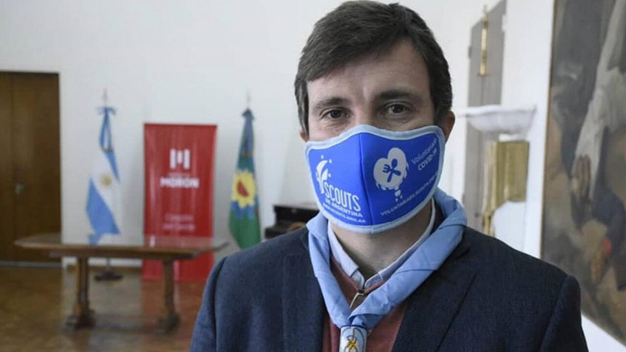 Lucas Ghi intendente de Morón