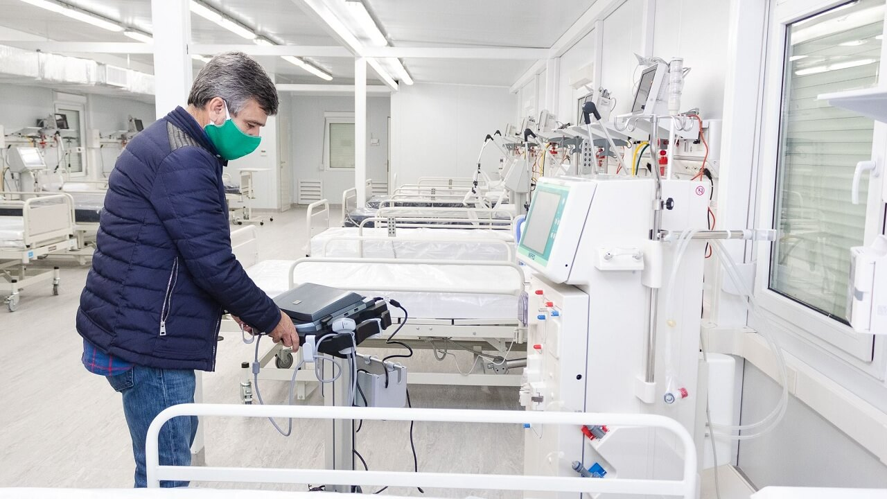 Hurlingham: Hospital Modular