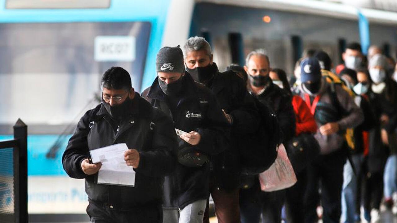Tren Sarmiento: Cómo reservar un lugar para viajar Diario Anticipos