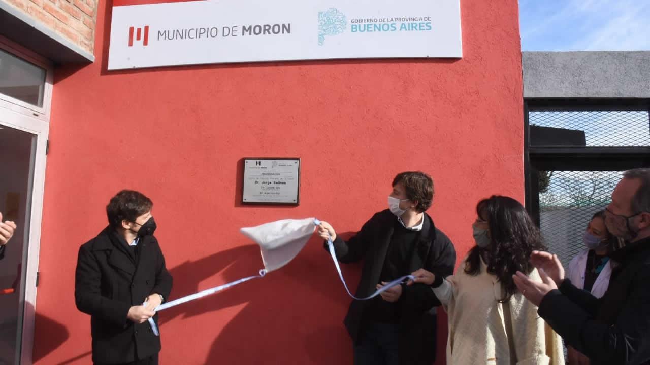 Kicillof y Ghi inauguraron nuevo centro de salud en Castelar