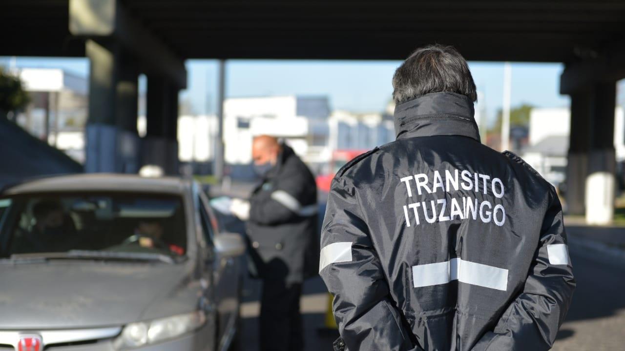 Ituzaingó: Control vehicular