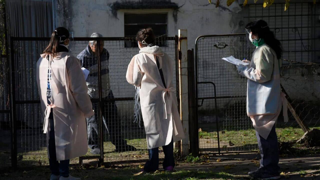 Morón: Recorrió Castelar Sur