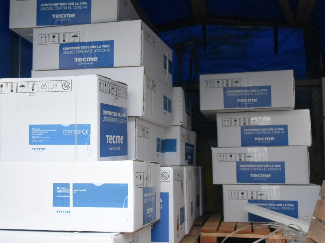 Ituzaingó recibe nuevo equipo sanitario para el hospital