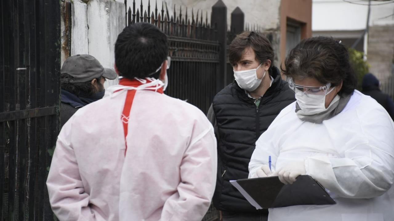 Morón coronavirus: testeos en Castelar (VIDEO)
