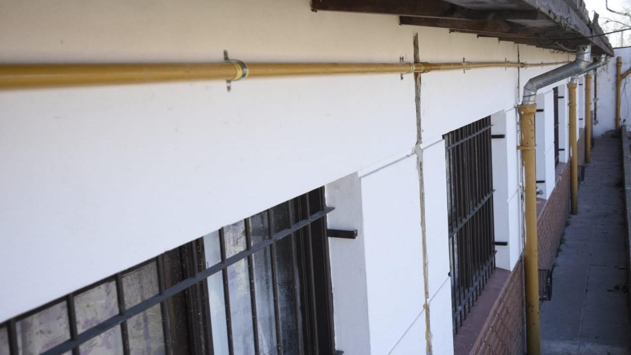 Lucas Ghi supervisó obras en escuelas de Morón (Video).