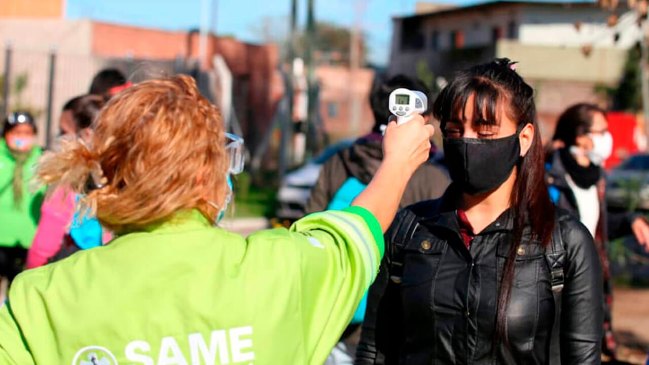 Casos de Coronavirus en Morón, el Conurbano y el País