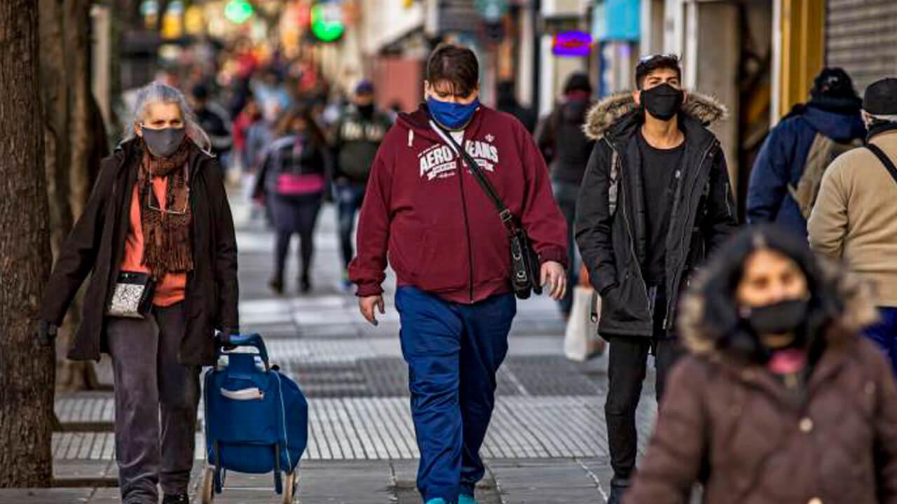 Cuarentena y Casos de Coronavirus en Hurlingham y el Conurbano por Semana