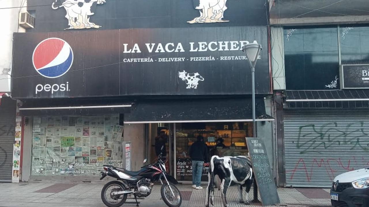 La Vaca Lechera Morón: se conviertió en panadería pero volverá a ser restaurante