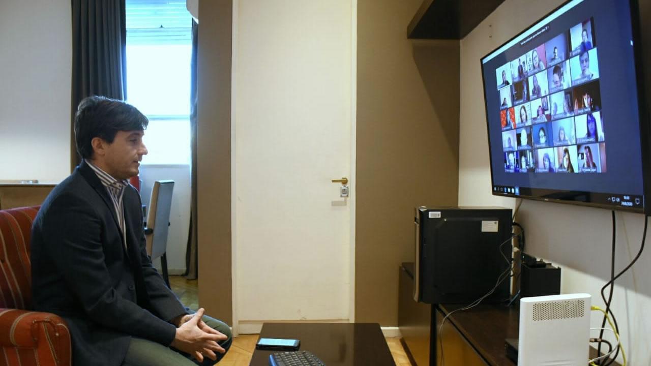 Morón: Lucas Ghi se reunió con instituciones de educación privadas