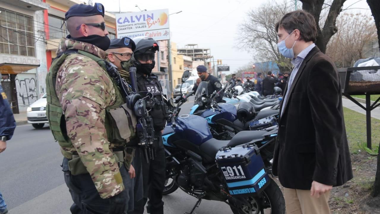 Seguridad en Morón: llegó la Fuerza de Respuesta Inmediata al distrito