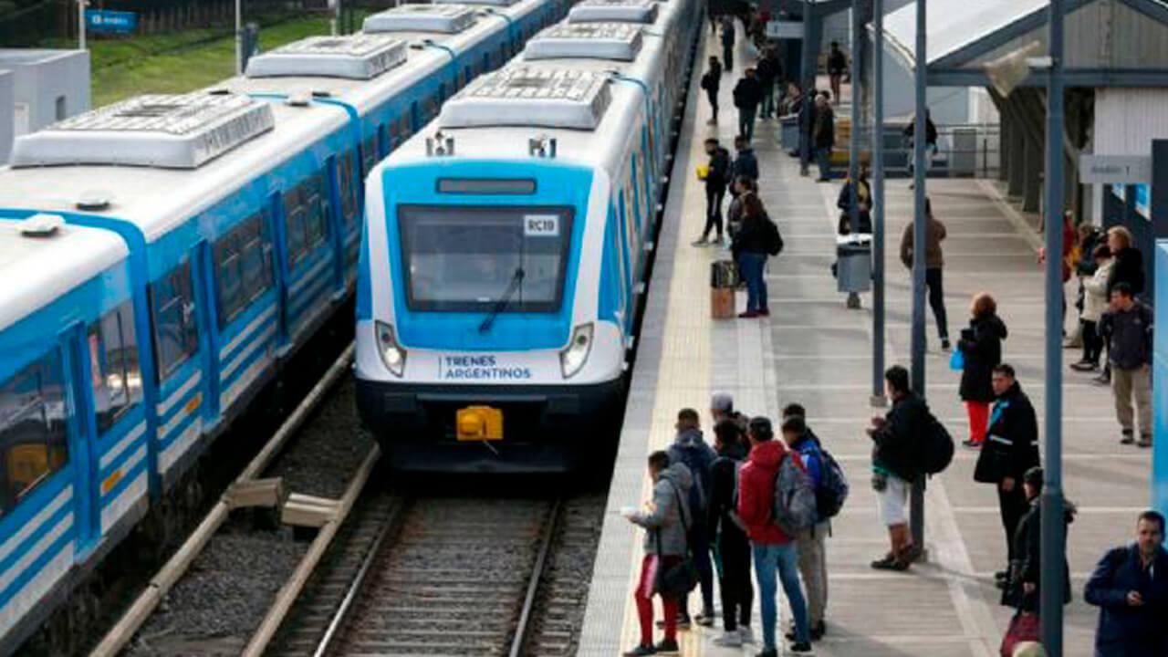 Tren Sarmiento: Mañana no circula