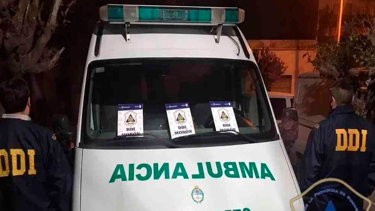 Cuatro Detenidos en Morón por repartir drogas