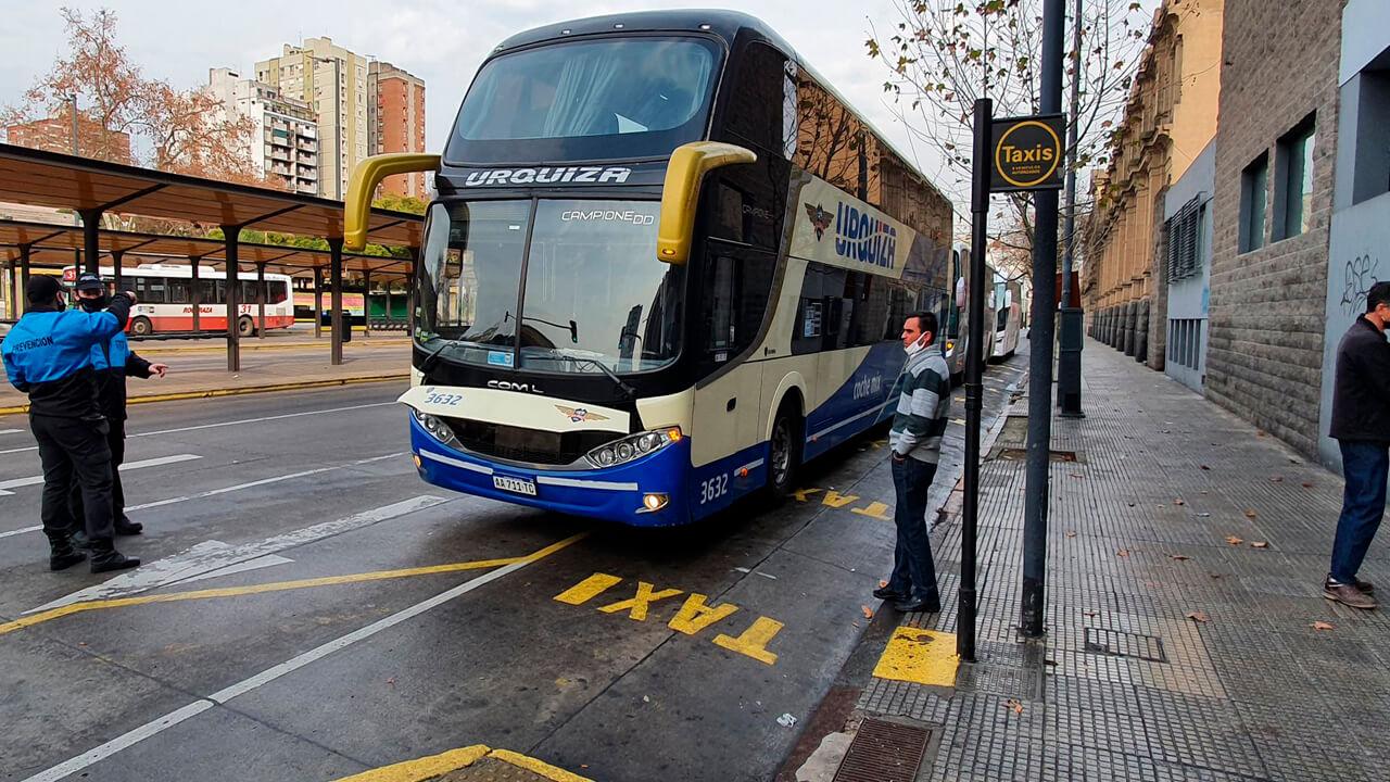 Tren Sarmiento y Refuerzo de Micros