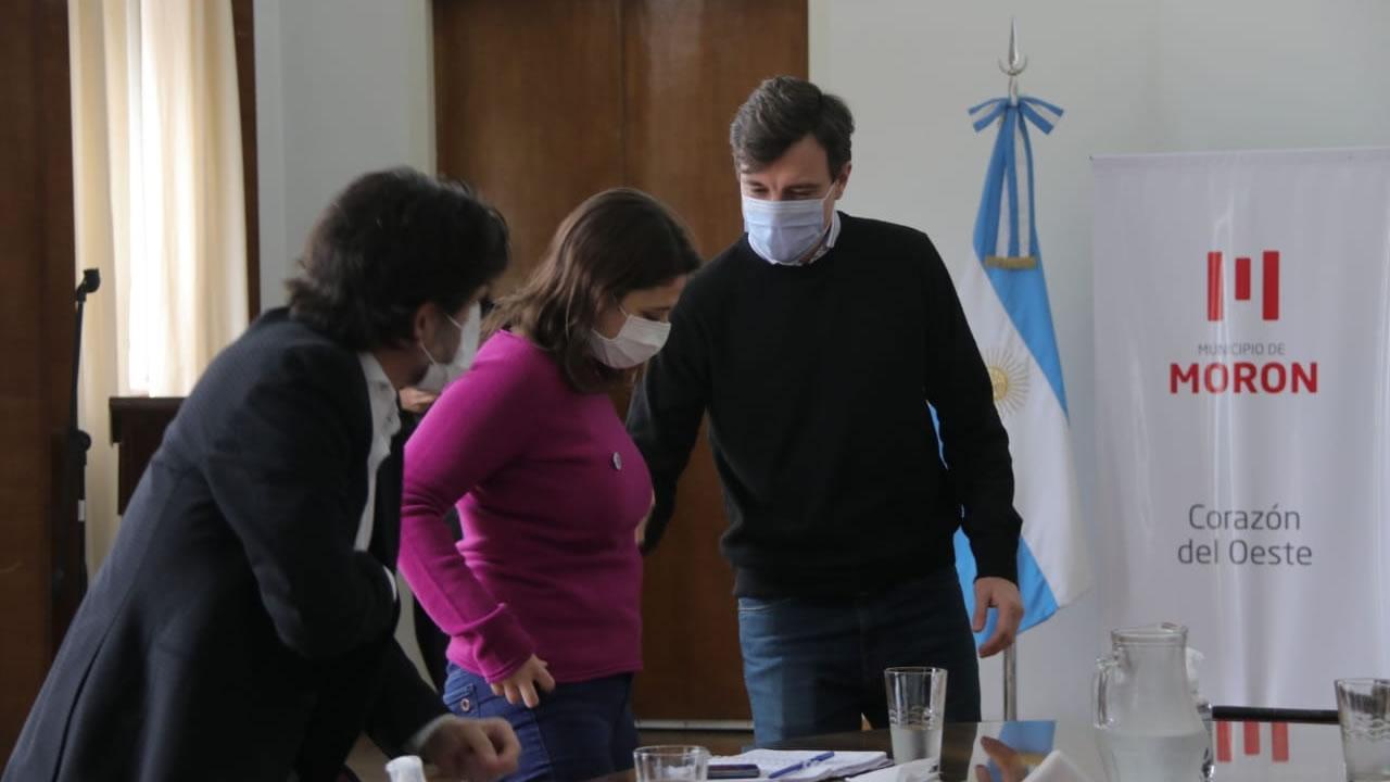 Morón: avanza la ampliación del Parque Industrial La Cantábrica
