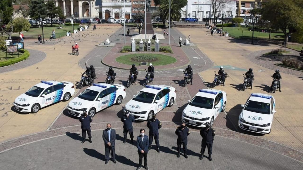 Morón seguridad: el municipio sumó automóviles y motos para el patrullaje