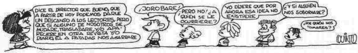 Mafalda Ultima Tira