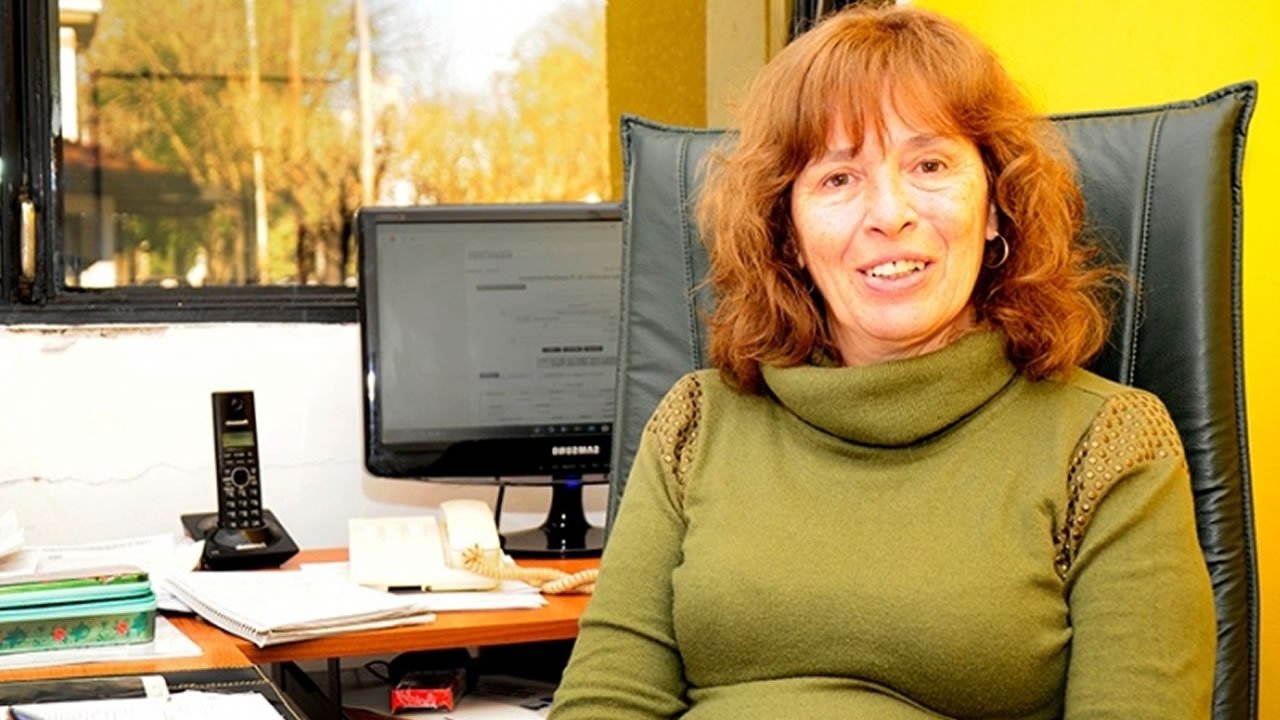 El Instituto de Hemoterapia sumó el nombre de Nora Etchenique