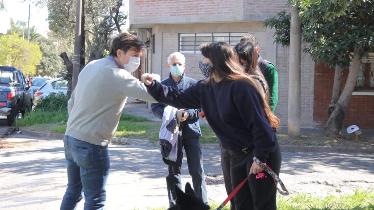 Morón: Operativo de detección temprana en El Palomar