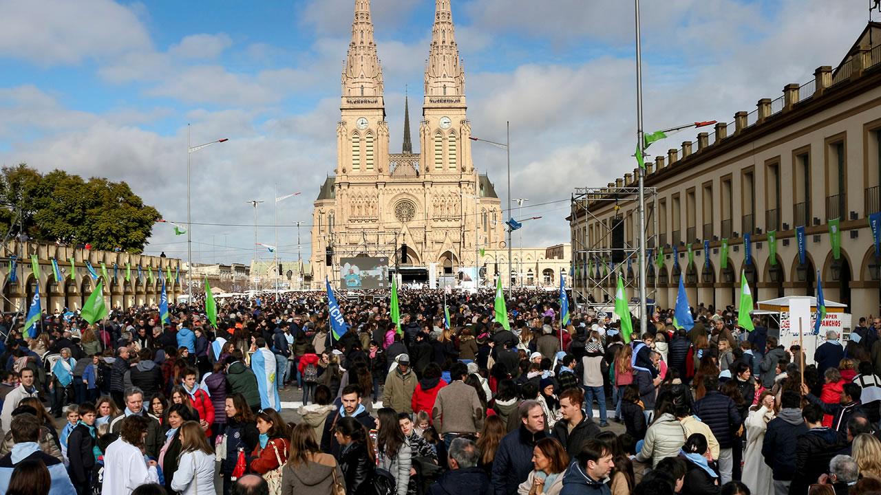 Suspendida peregrinación a Luján: confirmado por el Obispo